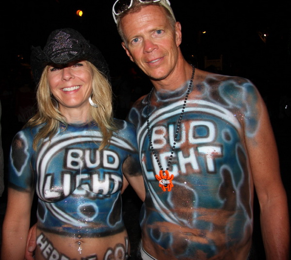 Bud Light Couple