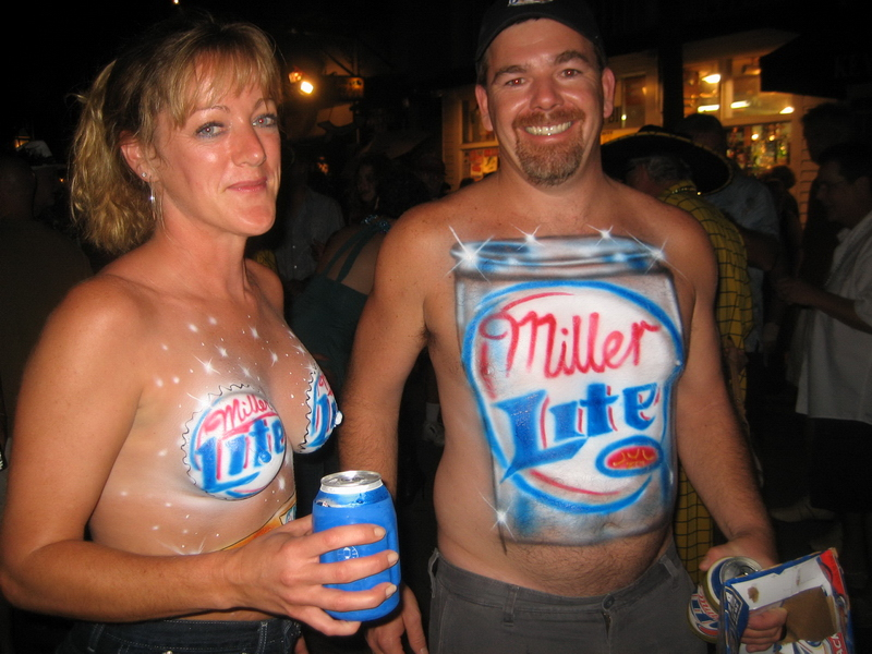 miller-lite-couple-2007 topless